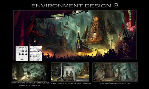Product picture Dynamic Environment Design in Photoshop